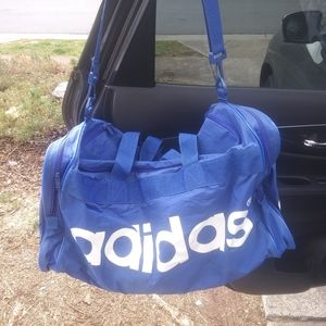 Addias duffle bag 21x7x14$34 + Addias hat